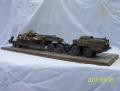 MAZ-543 w semitrailer with T-90