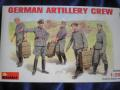 German Artillery Crew 1:35