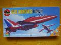 Red Arrows hawk 1:48 3000ft