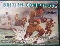 British commandos in action  1500.-