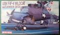 USN F4F-4 Wildcat w carrier deck Dragon 1-72
