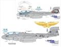 EA-6B Prowler , Decal Set  2500.-