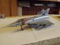 Mirage IIIC  Academy 1/48-as, tunning nélkül.
