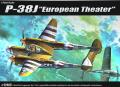 Academy 12405 - 1/72 P-38J European Theater - 5200ft