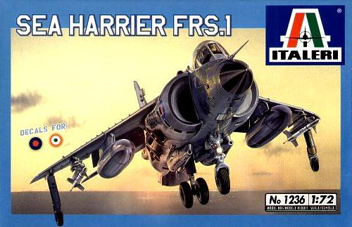 1/72 italeri Sea Harrier FRS1 2200 Ft