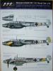 1/72 Messerschmitt Me Bf 110 HAD decal 72020