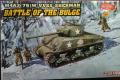 1/35 Battle of the Bulge   M4A3(76)W VVSS Sherman figurákkal