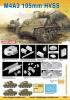 Dragon M4A3 Sherman 105 mm HVSS, 1:72  1500 ft