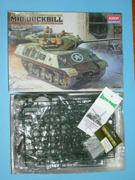 Academy 1397 (bontott , hiánytalan) + Barrel Depot  cső  +Armorscale Normandy set    6990.- Ft