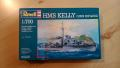 Revell 1/700 HMS Kelly destroyer 1800 Ft