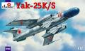 Yak-25KS  5700 Ft 1:72
