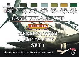 LIFECOLOR LUFTWAFFE-SET-I  4000 huf