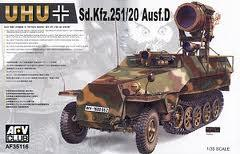 afv club sd.kfz 251/20 +magic track  11000 ft