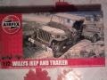 AIRFIX jeep 1:72 1900ft