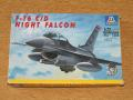 Italeri 1_72 F-16C_D Night Falcon makett