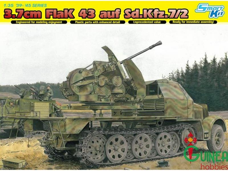 dragon-models-6553-1-35-german-8-ton-37cm-flak-43-auf-sdkfz7-2dragon-models-6553-1-35-german-8-ton-halftrack-37cm-flak
