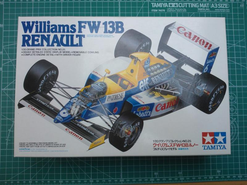 Tamiya Williams FW13B versenyautó makett