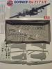 AIRFIX do 17 z  1:72 plexi hiány  3500ft