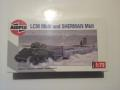 airfix LCM MKIII AND SHERMAN MK II  2500FT
