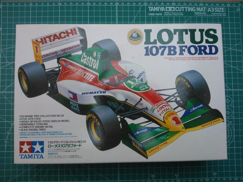 Tamiya Lotus 107B 1/20  makett