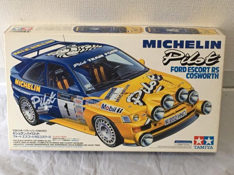 rare-tamiya-1-24-michelin-pilot-ford-escort-rs-cosworth-model-kit-japan-24153-c8b73c1670108bfe286a9bc0f660ef48