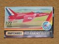 Matchbox 1_72 Hawker Siddeley Gnat T.Mk.1 Red Arrows 1.600.-