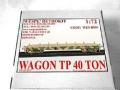 Wagon TP-40T  1:72 6000Ft