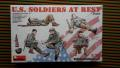 MiniArt 35200 US Solders at Rest   2,500.- Ft