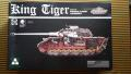 Takom 2046 King Tiger Sd.Kfz.182 Porsche Turret w. Zimmerit   12,000.- Ft