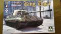 Takom 2073 King Tiger Sd.Kfz.182 Henschel Turret  12,000.- Ft