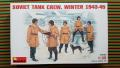 MiniArt 35022 Soviet Tank Crew Winter 1943-45  1500.- Ft