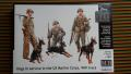 Master Box 35155 Dogs in Service in the US Marine Corps WW II era  1500.- Ft