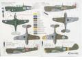 Tally-ho P-40 N-M decals rajz