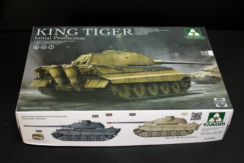 2096 King Tiger Initial Production