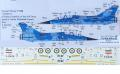 Xtradecal X72-254 Mirage F-1B IRAF