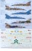 Xtradecal X72-254 Mirage F-1B rajz-1