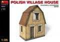 Polish village house Miniart