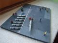 1/72 Us Navy Carrier Deck dióráma ; 8500.-