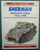 Sherman Medium Tank 1942-1945 Osprey  2000.-