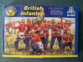 British Infantry Italeri 1-72