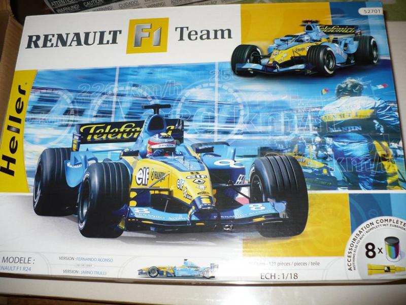 Heller Renault F1 Team 1:18  8500Ft