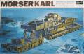 Mörser Karl on railway carrier