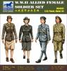 Bronco WWII Female Soldiers