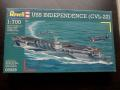 Revell USS Independance 3.000 Ft