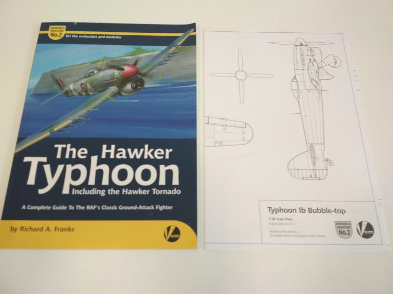 Richard A. Franks The Hawker Typhoon A complete Guide, puhakötés, Valiant, extra kieső szakrajz