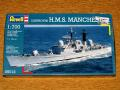 Revell 1_700 Destroyer H.M.S. Manchester 2.800.-