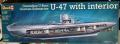 Revell 1:125 German Submarine U-47 (with interior) 8000 ft